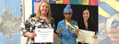 Dufferin Math Star Jora Singh Nahal